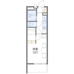 1K Mansion in Higashinakamoto - Osaka-shi Higashinari-ku Floorplan