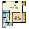 1LDK Apartment to Rent in Yokosuka-shi Floorplan