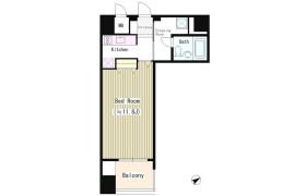 1R Mansion in Kaigan(3-chome) - Minato-ku