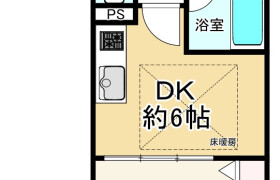 1DK {building type} in Nippombashi - Osaka-shi Chuo-ku