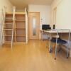 1K Apartment to Rent in Osaka-shi Joto-ku Living Room