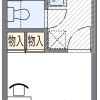 1K Apartment to Rent in Kyoto-shi Shimogyo-ku Floorplan