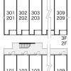 1K Apartment to Rent in Higashimatsuyama-shi Layout Drawing