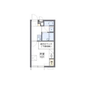 1K Apartment in Sagano rokutandacho - Kyoto-shi Ukyo-ku Floorplan