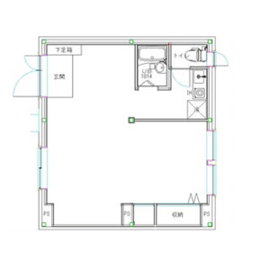 1K Mansion in Hommachi - Shibuya-ku Floorplan