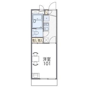 1K Mansion in Kanda minamidori - Amagasaki-shi Floorplan