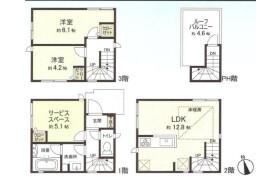 2SLDK {building type} in Sumida - Sumida-ku