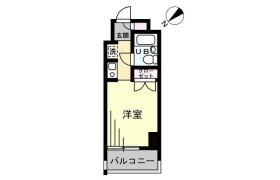 1K {building type} in Omorinaka - Ota-ku