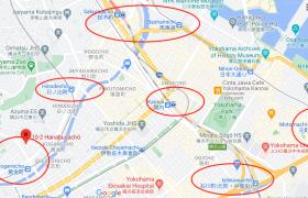 1R {building type} in Hanabusacho - Yokohama-shi Naka-ku