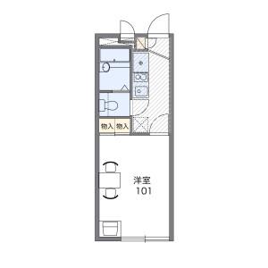 1K Mansion in Hama - Amagasaki-shi Floorplan