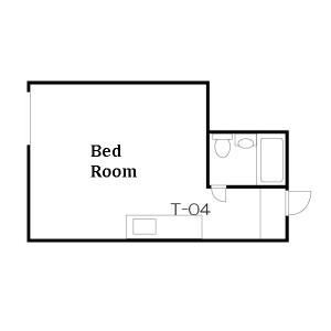 1R Mansion in Nishishinjuku - Shinjuku-ku Floorplan