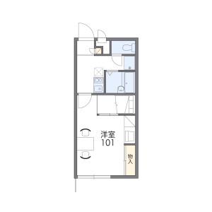 1K Apartment in Sempuku - Susono-shi Floorplan