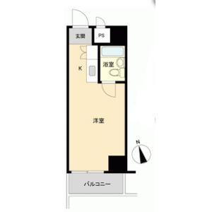 台東區西浅草-1R{building type} 房間格局