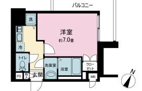 1K {building type} in Tsunabamachi - Fukuoka-shi Hakata-ku