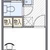 1K Apartment to Rent in Osaka-shi Higashisumiyoshi-ku Floorplan