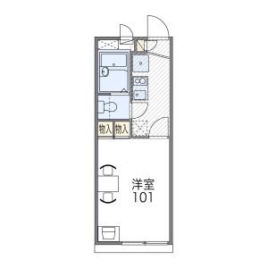 1K Apartment in Imagawa - Osaka-shi Higashisumiyoshi-ku Floorplan