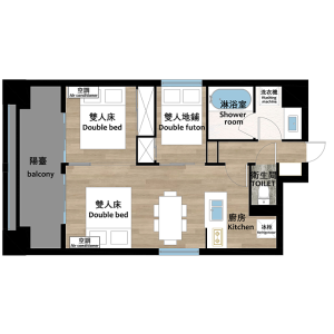 2LDK Mansion in Nishinippori - Arakawa-ku Floorplan