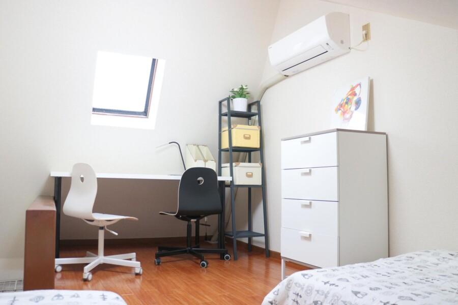 1SK アパート 目黒区 ベッドルーム