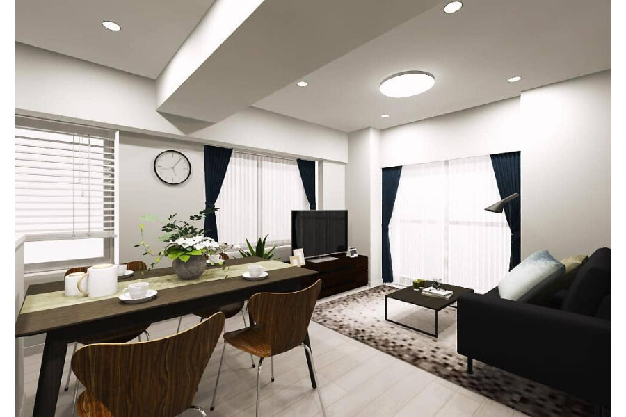1SLDK Apartment to Buy in Nerima-ku Living Room