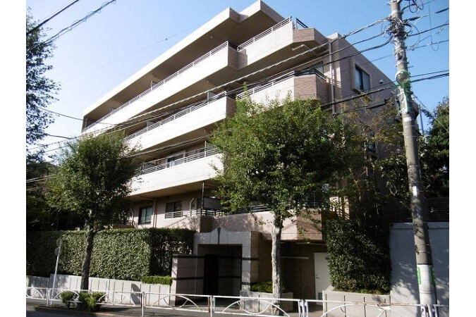 在世田谷区购买3SLDK 公寓大厦的 户外