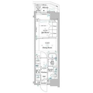 2K Mansion in Sugamo - Toshima-ku Floorplan
