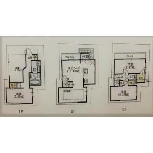 3LDK House in Yanaka - Taito-ku Floorplan