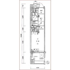 1R Mansion in Nishiwaseda(sonota) - Shinjuku-ku Floorplan