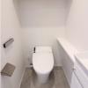 在港區內租賃4LDK 公寓大廈 的房產 廁所