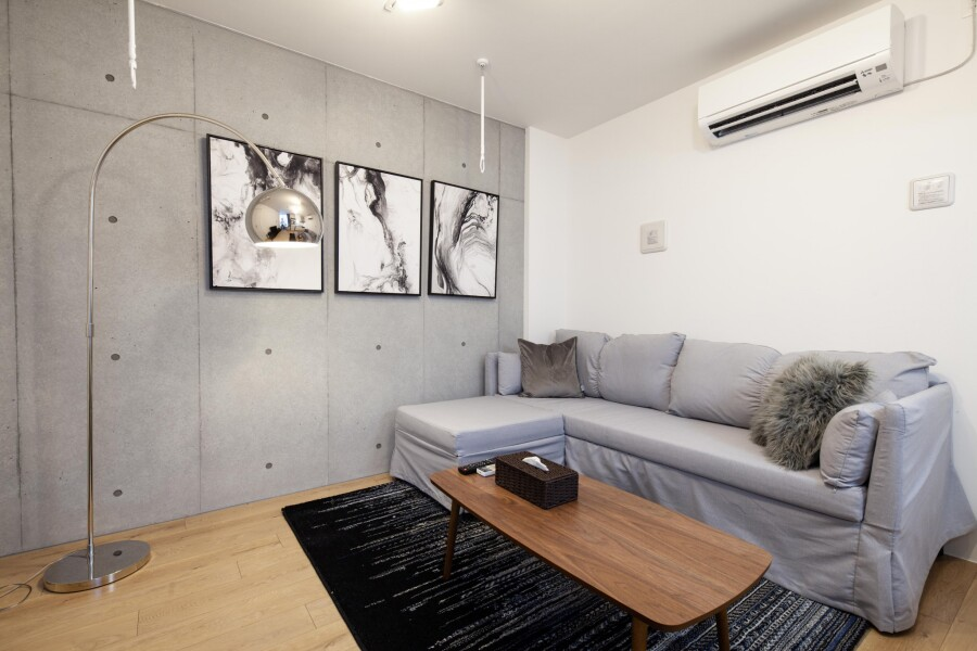 1LDK Apartment to Rent in Toshima-ku Living Room