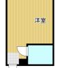 1R Apartment to Rent in Osaka-shi Sumiyoshi-ku Floorplan