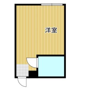1R Mansion in Nagai - Osaka-shi Sumiyoshi-ku Floorplan