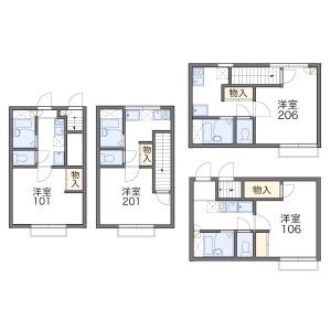 1K Apartment in Kitamachi - Nerima-ku Floorplan