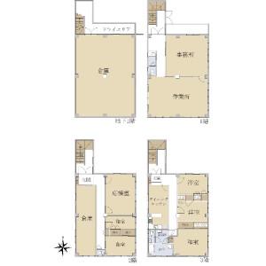 Whole Building {building type} in Toyotamaminami - Nerima-ku Floorplan
