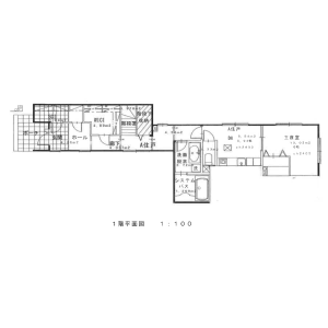 3SLDK House in Minamirokugo - Ota-ku Floorplan