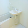 1K Apartment to Rent in Hachioji-shi Bathroom