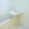 在八王子市内租赁1K 公寓 的 浴室
