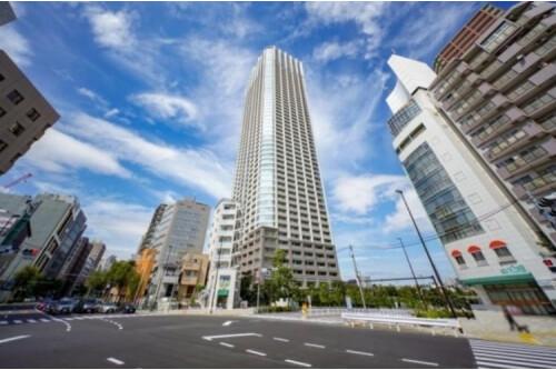 在新宿區購買3LDK 公寓大廈的房產 戶外