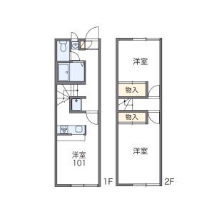 2DK Mansion in Nishiarai - Adachi-ku Floorplan