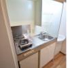 1K Apartment to Rent in Osaka-shi Yodogawa-ku Kitchen