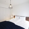 2SLDK Serviced Apartment to Rent in Shibuya-ku Bedroom