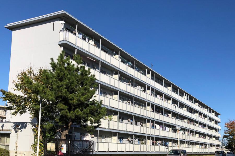在成田市内租赁2DK 公寓大厦 的 户外