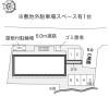 1K Apartment to Rent in Osakasayama-shi Layout Drawing