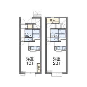 1K Apartment in Hasamacho sanuma - Tome-shi Floorplan