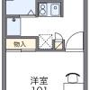 1K Apartment to Rent in Ashikaga-shi Floorplan