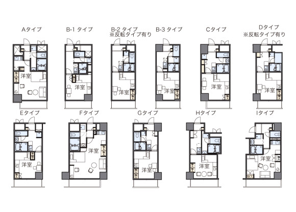 1K Apartment to Rent in Nagoya-shi Naka-ku Floorplan