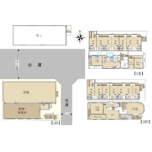 Whole Building {building type} in Hagoromocho - Tachikawa-shi Floorplan