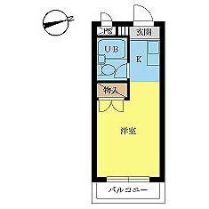 1R Mansion in Daimachi - Hachioji-shi Floorplan