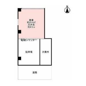1R Warehouse in Kumata - Osaka-shi Higashisumiyoshi-ku Floorplan