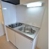 1K Apartment to Rent in Osaka-shi Abeno-ku Kitchen