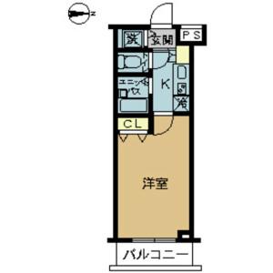 1K Mansion in Asagayaminami - Suginami-ku Floorplan